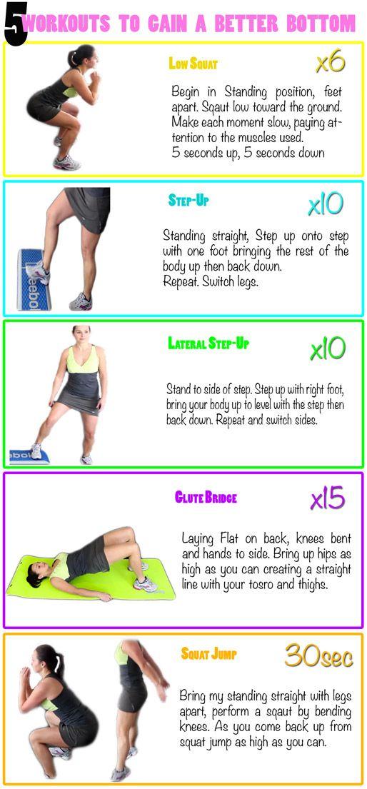 Exercise bottom butt